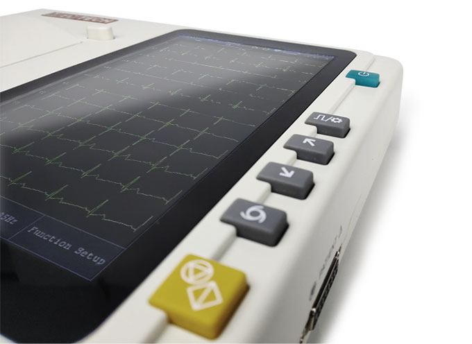 ECG device from meditech